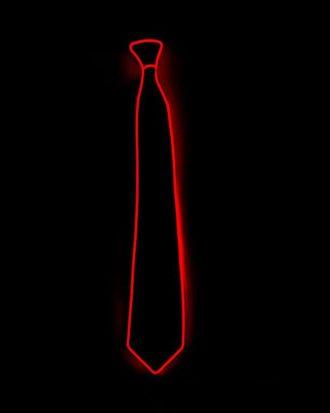 El Wire LED Slips - Röd