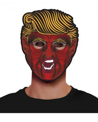Elektronisk LED Mask Trump - One size