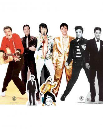 Elvis Presley Bordsdekorationer - 8-pack