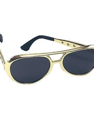 Elvis Solglasögon - Guld