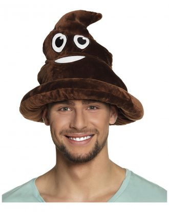 Emoji Poop Hatt - One size