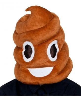 Emoji Pile of Poo Mask - One size