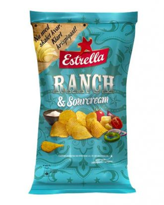 Estrella Ranch & Sourcream - 175 gram