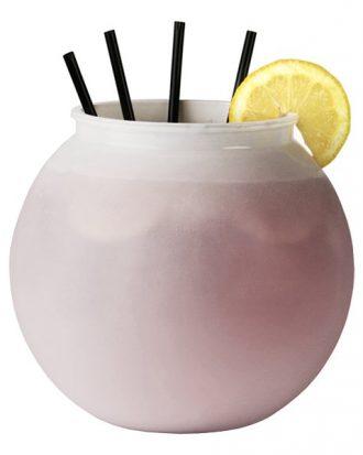 Fishbowl Vit i Plast