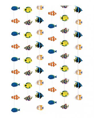 Fiskar Hängande Dekoration - 6-pack