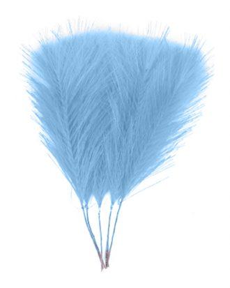 Fjädrar i Tyg Blå - 5-pack