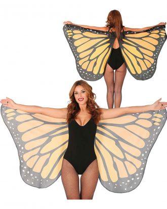 Fjärilsvingar Stora - One size
