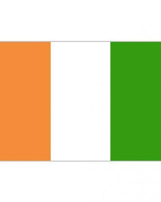 Flagga Elfenbenskusten