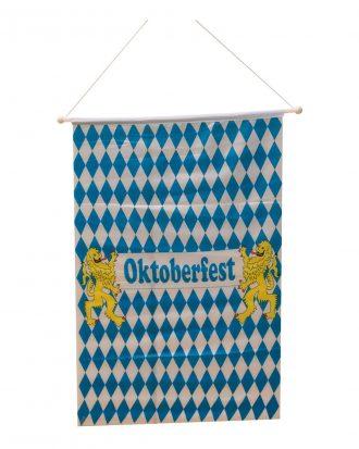 Flagga med Snöre Oktoberfest
