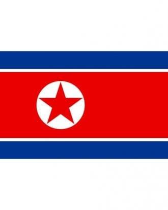 Flagga Nord Korea