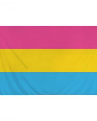 Flagga Pansexuell