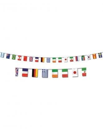 Flaggirlang Internationella Flaggor
