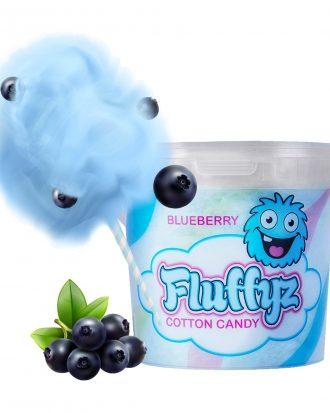 Fluffyz Sockervadd - Blåbär