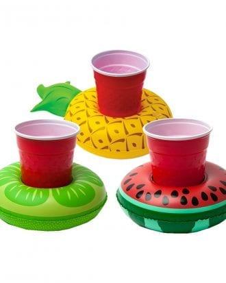 Flytande Drickahållare Frukt - 3-pack