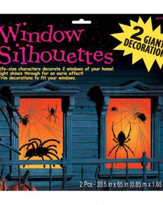 Fönster Siluetter Spindlar - 2-pack