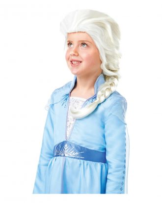 Frozen 2 Elsa Barn Peruk - One size
