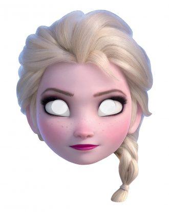 Frozen 2 Elsa Pappmask - One size