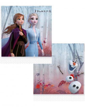 Frozen 2 Pappersservetter - 20-pack