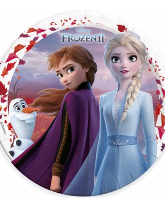 Frozen 2 Papperstallrikar - 8-pack