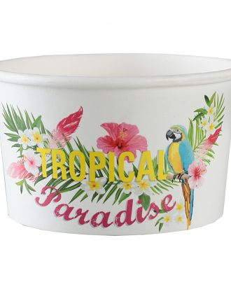 Glassbägare Tropical - 10-pack