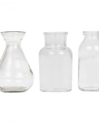 Glasvaser Mini - 3-pack