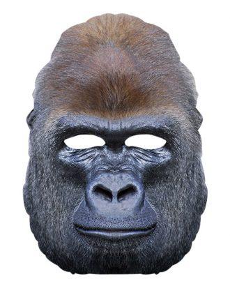 Gorilla Pappmask