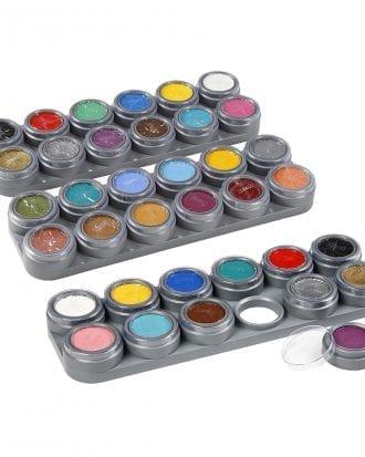 Grimas Ansiktsfärg Set - 24 färger