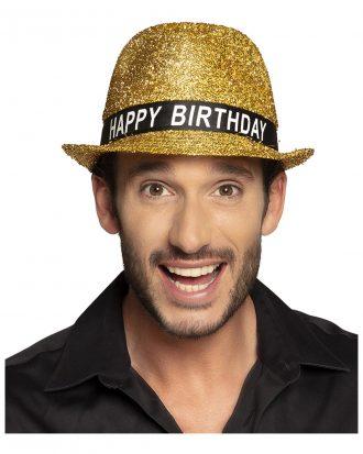 Guldhatt Happy Birthday - One size