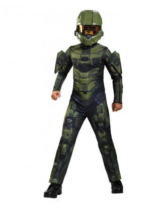 Halo Master Chief Barn Maskeraddräkt - X-Large