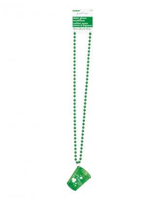Halsband med Shotglas St Patrick's