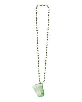 Halsband med Shotglas St Patricks Day