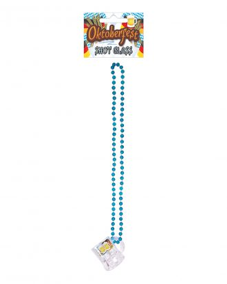 Halsband Oktoberfest med Shotglas