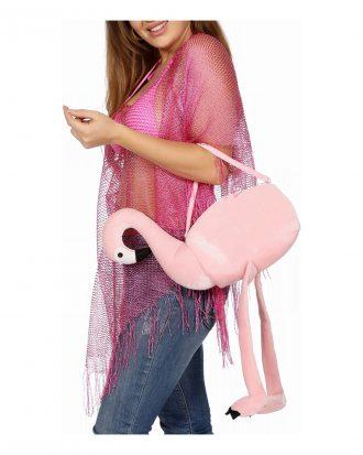 Handväska Flamingo