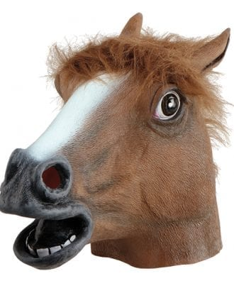 Hästmask - One size