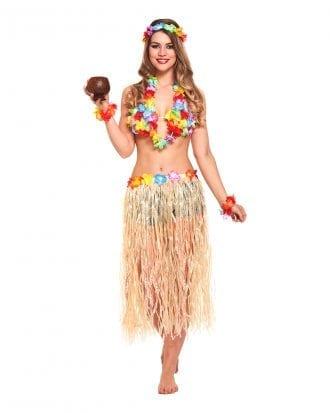 Hawaii Flicka Maskeraddräkt - One size