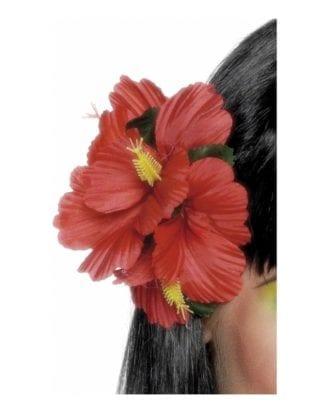 Hawaiian Röd Hårklämma