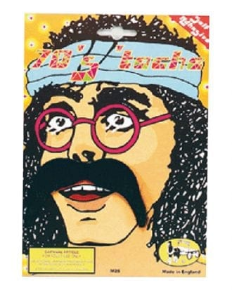 Hippie Mustasch - Svart