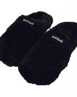 Hot Feet Värmetofflor - Svart