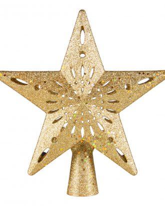 Julgransstjärna LED Guld