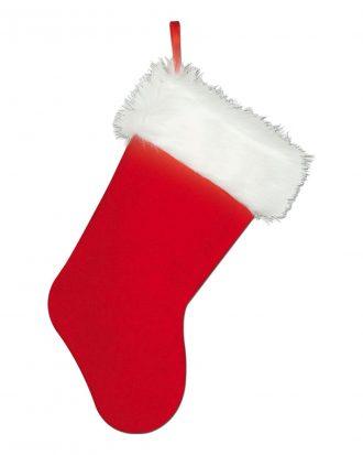Julstrumpa Röd