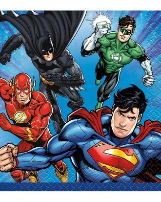 Kaffeservetter Justice League - 16-pack