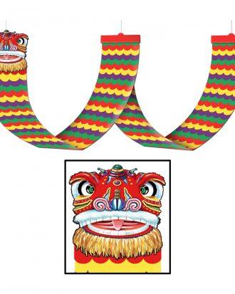 Kinesisk Drake Takdekor