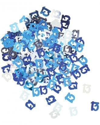 Konfetti Blå 13