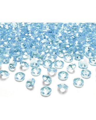 Kristalldiamanter Turkos - 100-pack