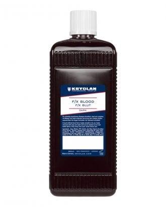 Kryolan F/X Blod - 500 ml Mörkröd
