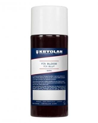 Kryolan F/X Blod - 250 ml Mörkröd