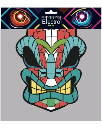 LED Mask Angry Face
