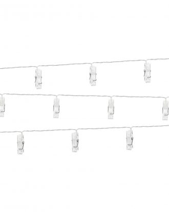 Ljusslinga LED med Clips - 1.4m