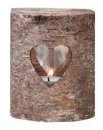 Ljushållare i Bark Hjärta