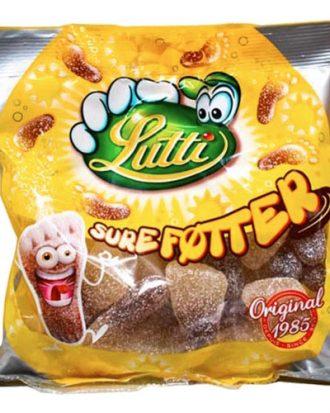 Lutti Sura Fötter i Påse - 130 gram